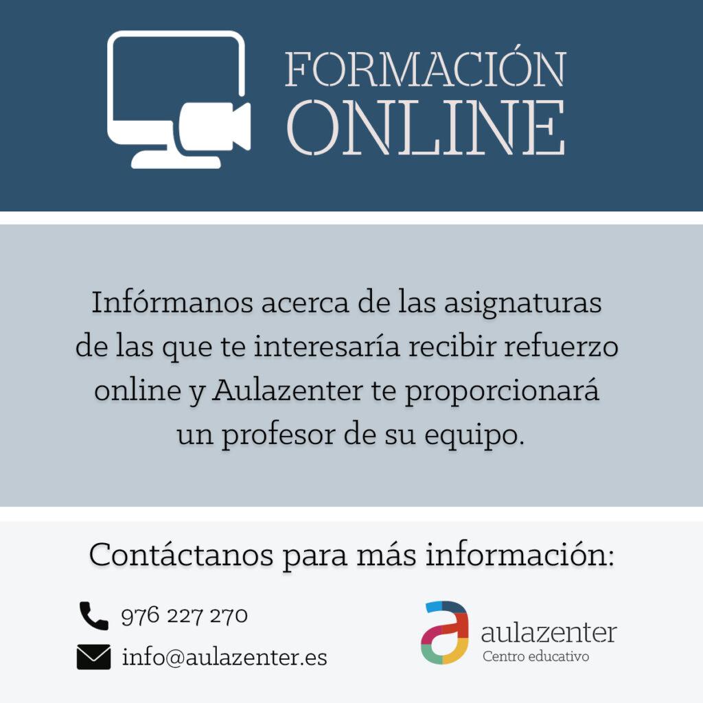 Aulazenter ofrece formación online